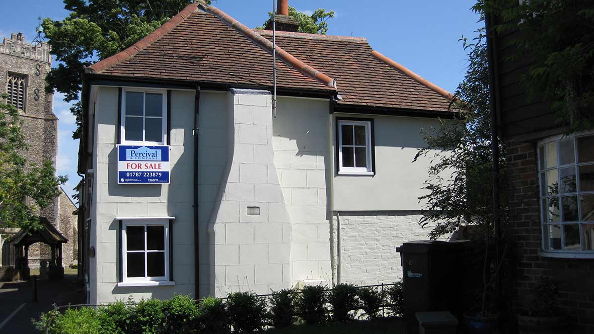 First floor extension to a Grade 2 Listed cottage, Earls Colne, Essex.