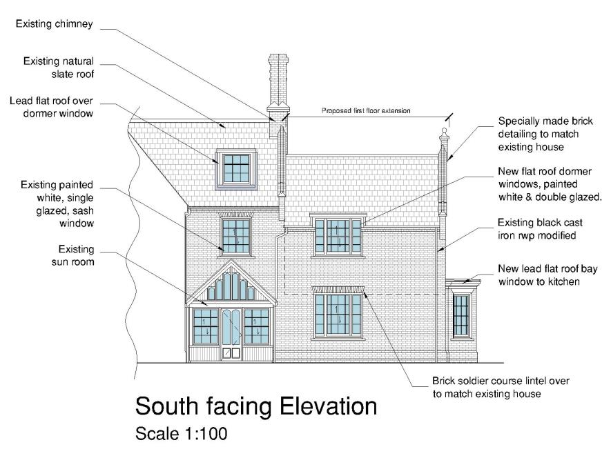 Victorian dwelling - proposed
