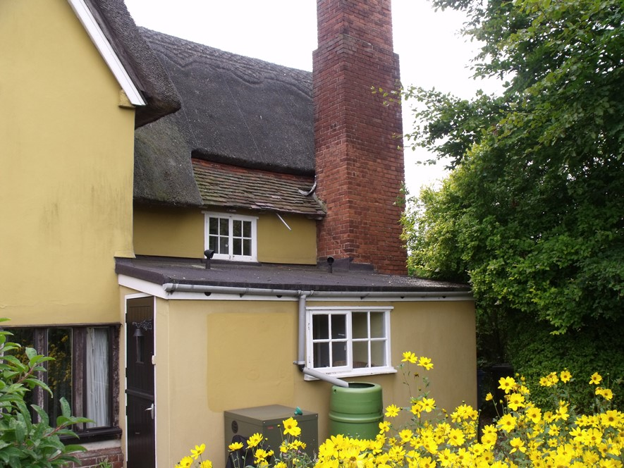 Extension to Grade 2 Listed Thatch Cottage - before