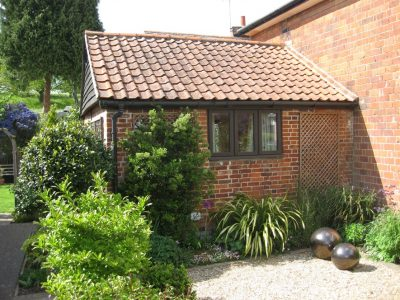 Conversion of curtilage Listed outbuilding to Grade 2 Listed cottage, Nayland, Suffolk.