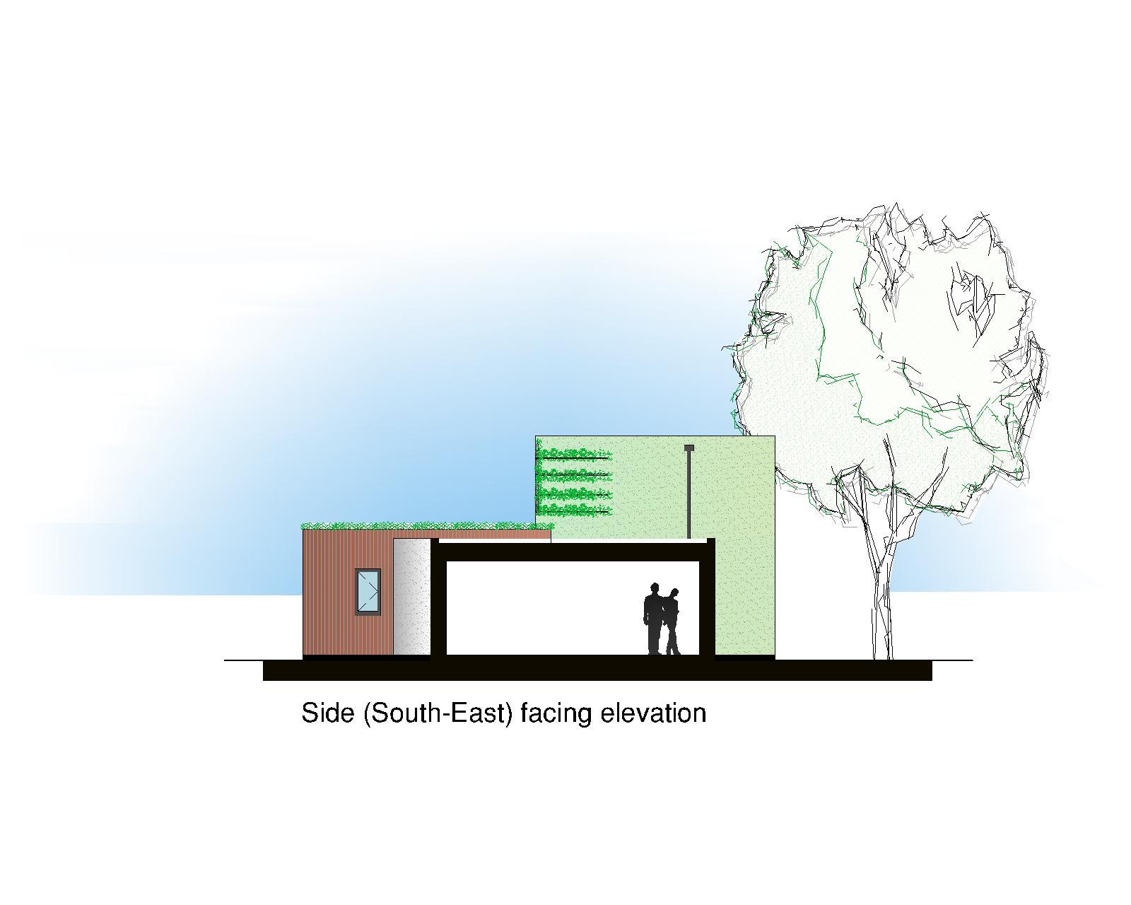Side section/elevation