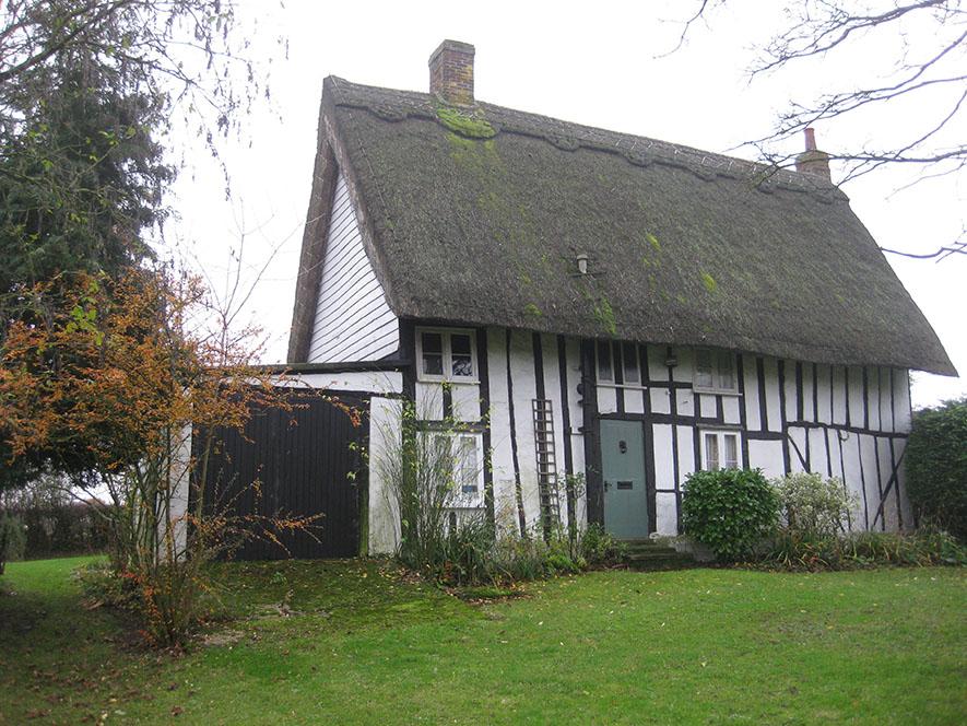 Grade 2 listed cottage